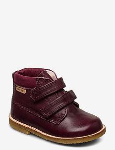 Tex Boot with velcro - pre-walkers - bordo