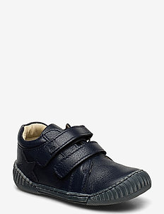 ECOLOGICAL LOW BOOT, SOFT LEATHER, MEDIUM FIT - boots - 06-navy