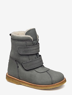 Tex Boot with velcro - winter boots - 49-grey