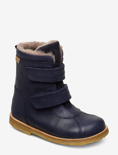 Tex Boot with velcro - winter boots - navy