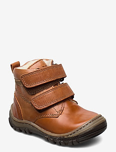 HAND MADE LOW BOOT - bottes d'hiver - cognac