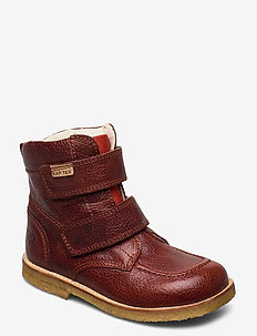 ECOLOGICAL HAND MADE Water proof Low Boot - vinter boots - rust