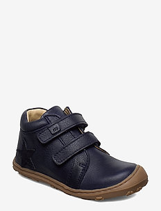 HAND MADE LOW BOOT - 01-NAVY