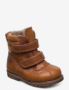 HAND MADE BOOT - vinter boots - cognac