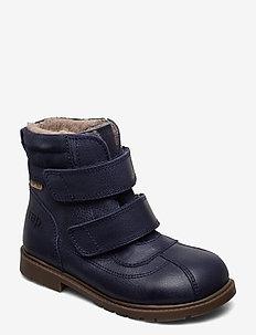 HAND MADE BOOT - vinter boots - navy