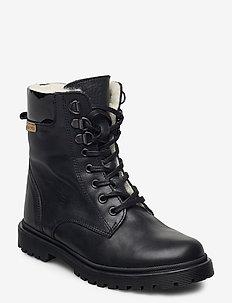 HAND MADE BOOT - bottes d'hiver - black/black
