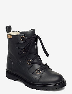 HAND MADE BOOT - boots - black