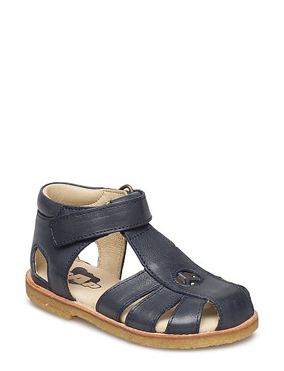 ECOLOGICAL HAND MADE Closed Sandal - 03-NAVY