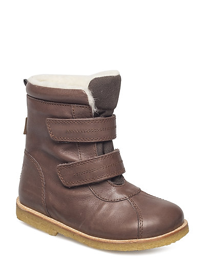Tex Boot with velcro - 61-DK. BROWN