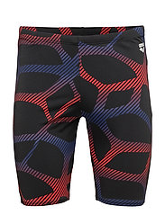 M SPIDER JAMMER - 504-BLACK-RED