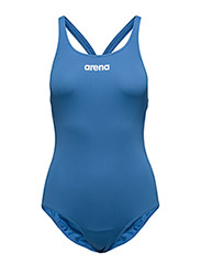 W SOLID SWIM PRO - ROYAL,WHITE