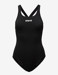 W SOLID SWIM PRO - BLACK,WHITE