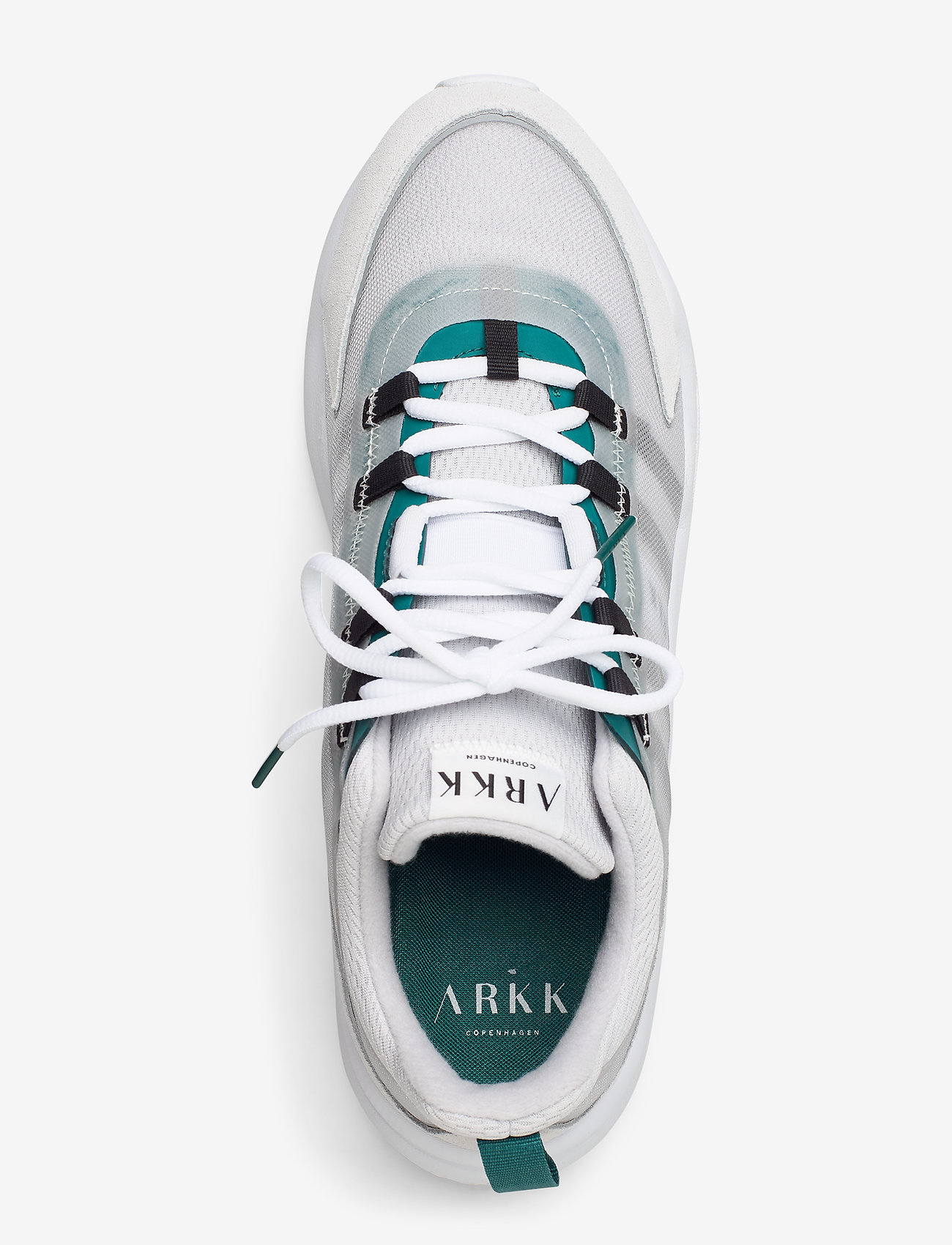 Arkk Copenhagen Lyron Mesh F-pro90 Soft Grey Teal - Sneakers