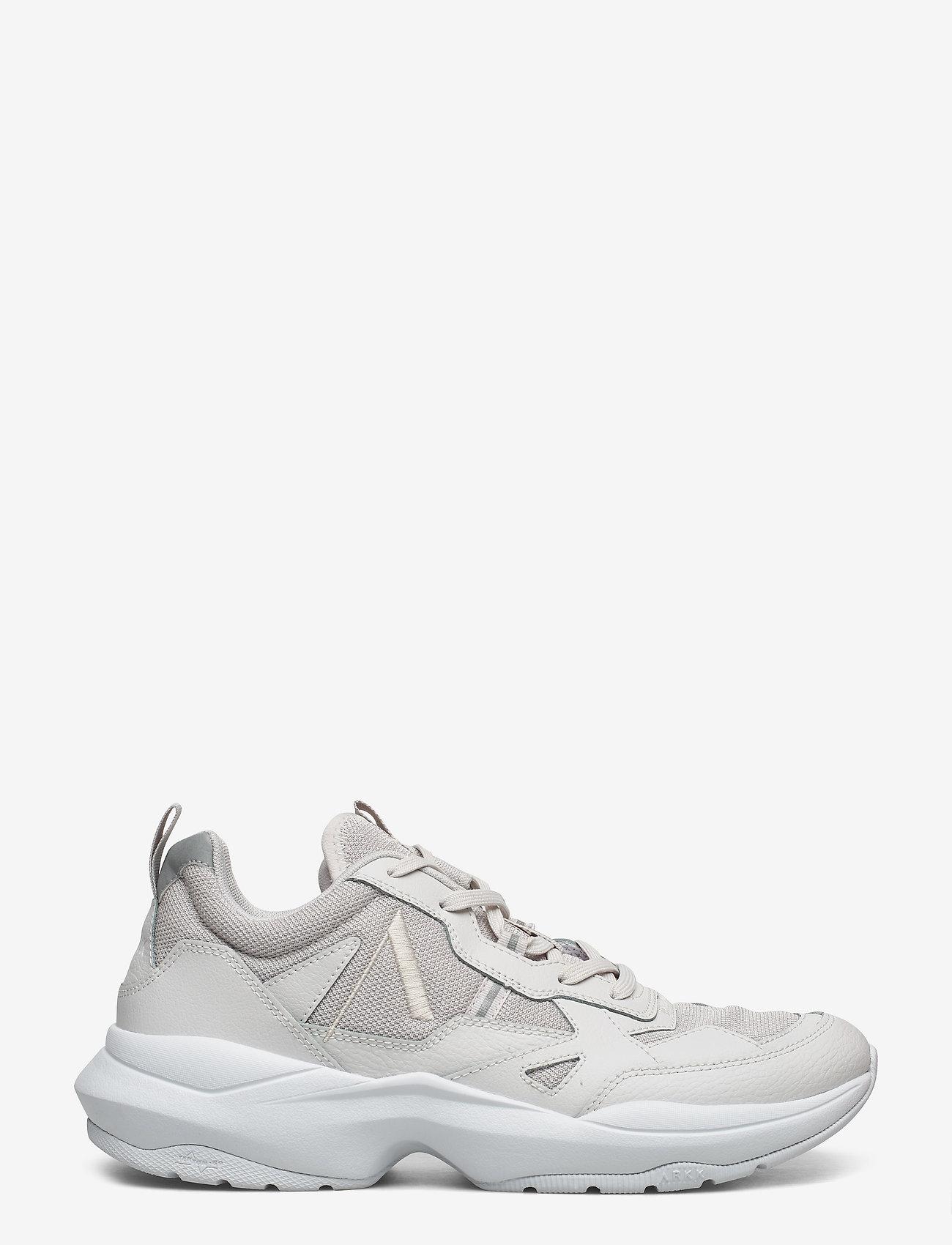 Arkk Copenhagen Quantm Leather T-g9 Soft Grey - Men Sneakers