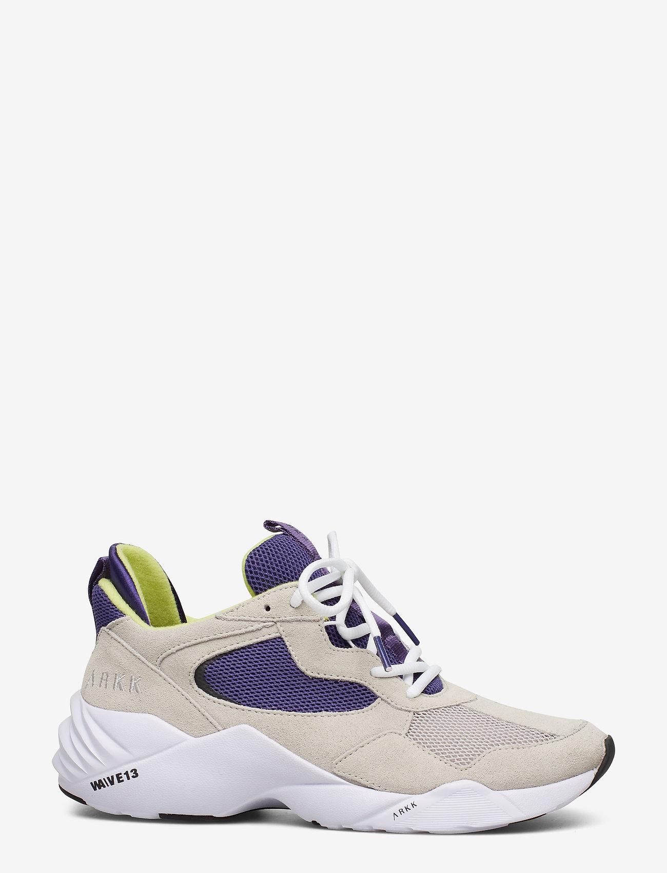Arkk Copenhagen Kanetyk Suede W13 Wind Grey Bright - Sneakers