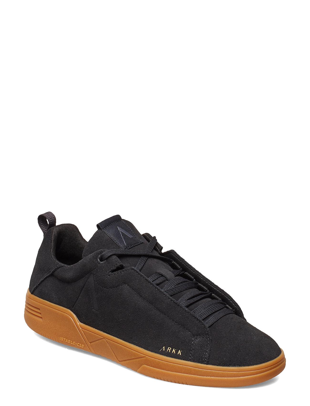 ARKK Copenhagen Uniklass Suede S-C18 Black Gum - Me - BLACK GUM