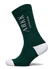 The High Sock - Essential - GARDEN GREEN WHITE