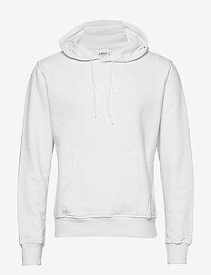 ARKK Classic Hoodie White - basic sweatshirts - white