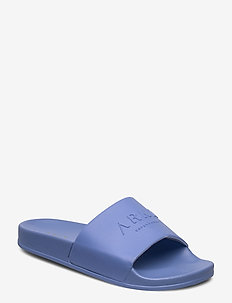 ARKK Slides - pool sliders - lavender blue