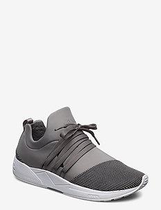 Raven Mesh S-E15 Silver Grey Black - niedrige sneakers - grey