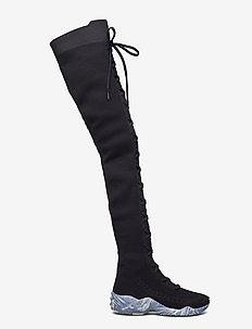 Lazy Superior - Women - höga stövlar - black
