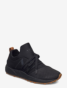 Raven Nubuck S-E15 Vibram Black Bro - sneakers med lav ankel - black brown gum