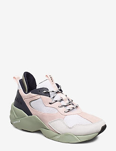 Kanetyk Suede W13 Blush Seagrass - - chunky sneakers - blush seagrass