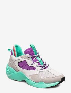 Kanetyk Suede W13 Light Purple Berm - chunky sneakers - light purple bermuda