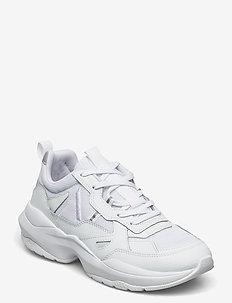 Quantm Leather T-G9 Triple White - - przed kostkę - triple white