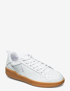 Visuklass Leather S-C18 White Light - low tops - white light gum