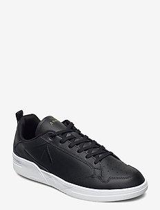 Visuklass Leather S-C18 Black - Men - low tops - black white