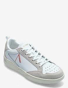 Visuklass Leather Suede S-C18 White - sneakersy niskie - white peach