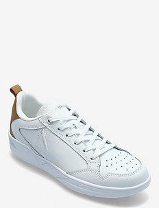 Visuklass Leather S-C18 White Deser - sneakersy niskie - white desert brown