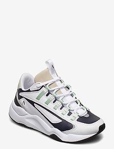 Apaze Leather F-PRO 90 - låga sneakers - white silver birch