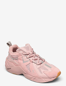Tuzon Suede W13 Misty Rose Light Gu - chunky sneakers - misty rose light gum