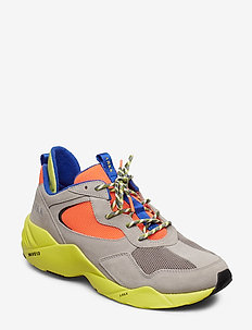 Kanetyk Suede W13 Ash Neon Lime - M - ASH NEON LIME
