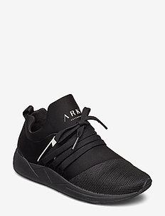 Raven Mesh PET S-E15 - sneakers med lav ankel - black