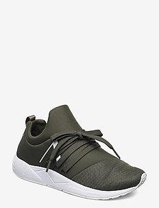 Raven Mesh PET S-E15 - sneakers med lav ankel - dark army white