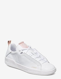 Uniklass Leather S-C18 - sneakers med lav ankel - white shell pink