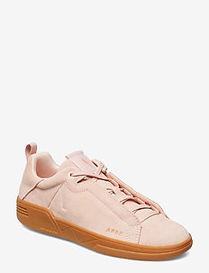 Uniklass Suede S-C18 Shell Pink Gum - baskets basses - shell pink gum