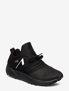 Raven Mesh HL S-E15 Vibram Black Wh - BLACK WHITE