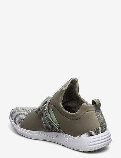 Arkk Copenhagen Raven S-e15 Granite Green Off White- Sneakers