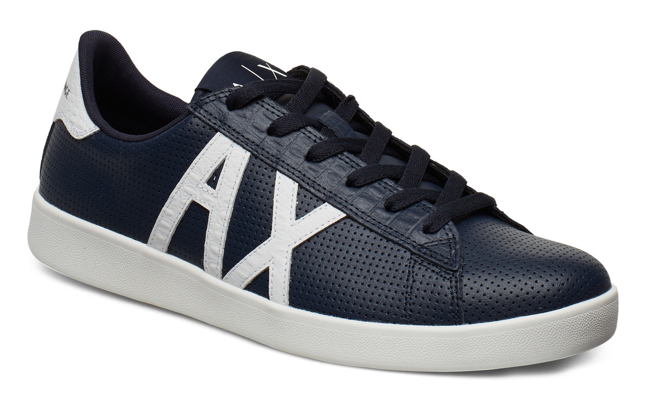 Armani Exchange AX MAN SHOES - NAVY+WHITE