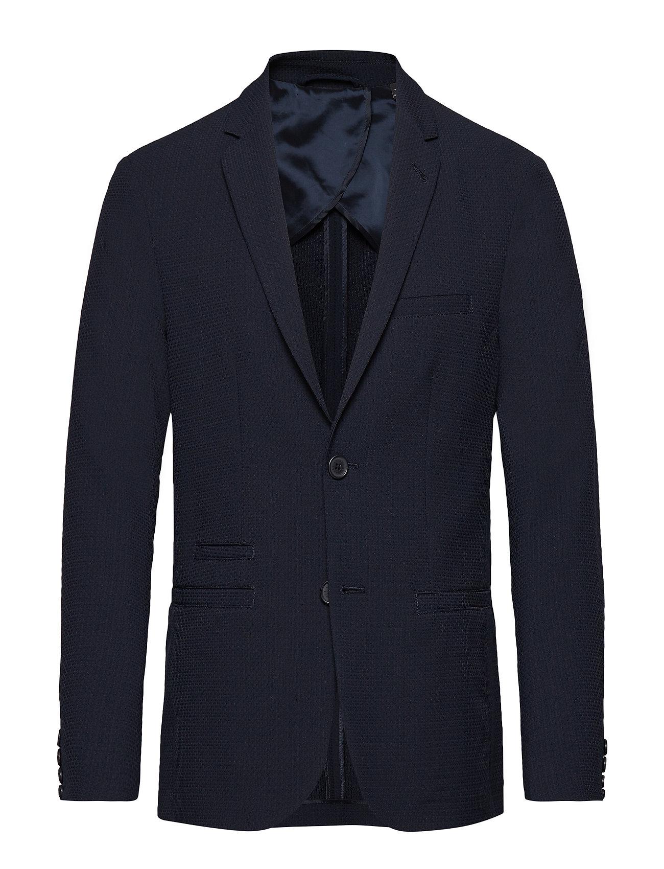 ARMANI EXCHANGE Man Woven Blazer Blazer Jackett Blau ARMANI EXCHANGE