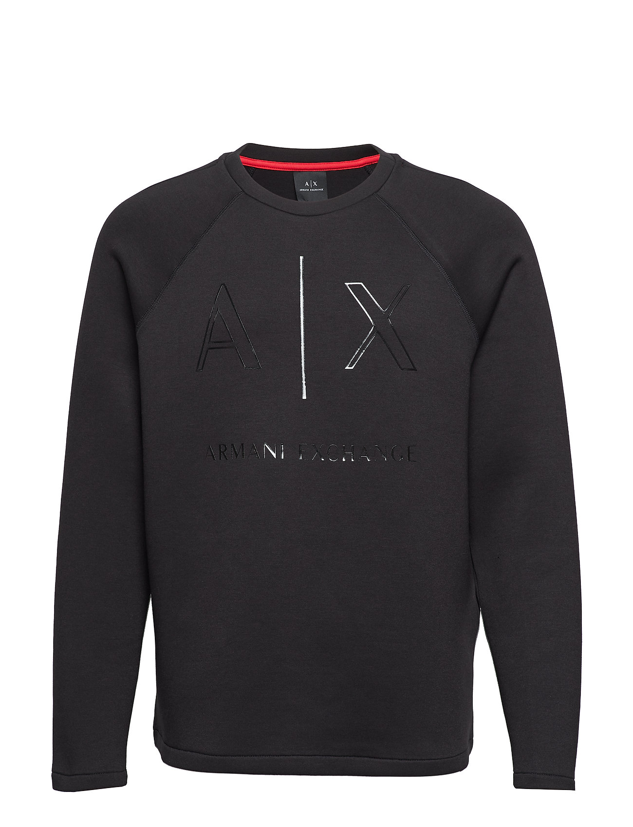 ARMANI EXCHANGE Man Jersey Sweatshirt Sweat-shirt Pullover Schwarz ARMANI EXCHANGE