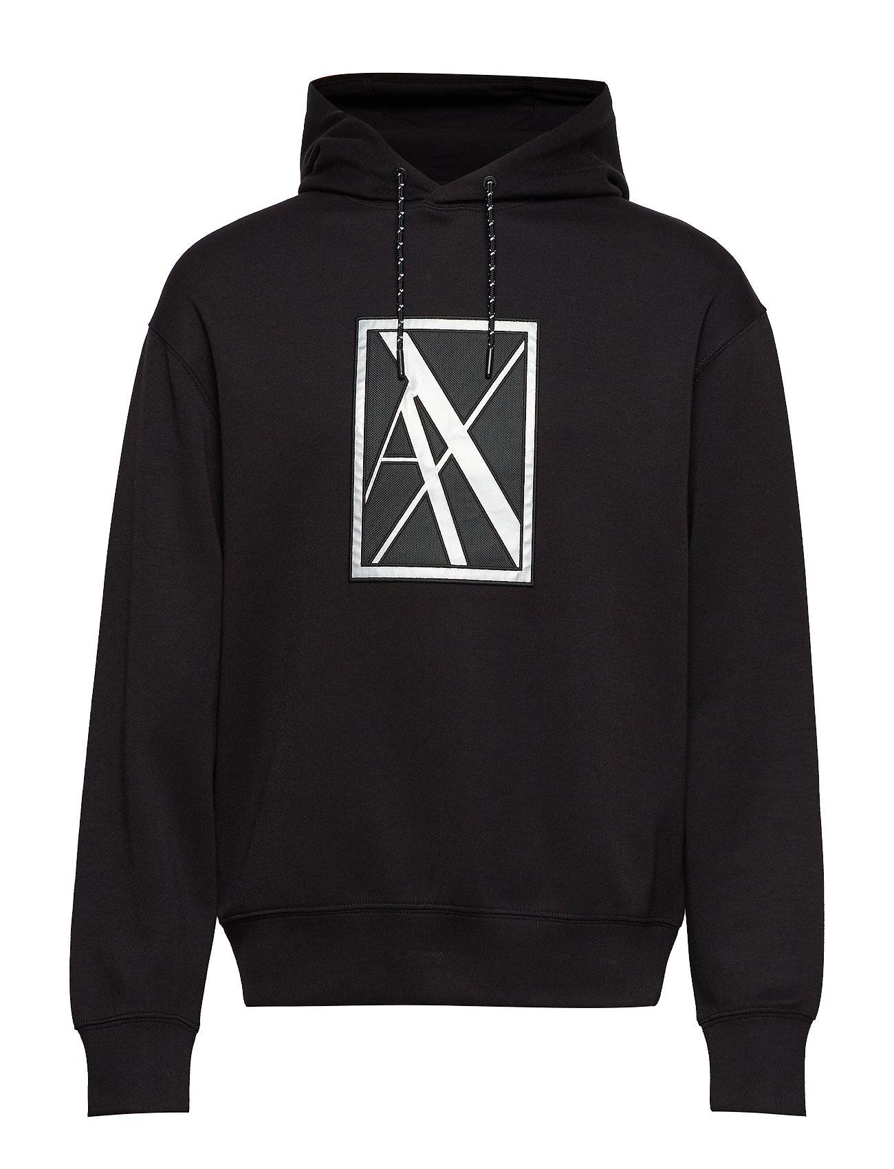 Man SweatshirtblackArmani Exchange Ax Ax Man Ax SweatshirtblackArmani Exchange Man u1J3TFlK5c