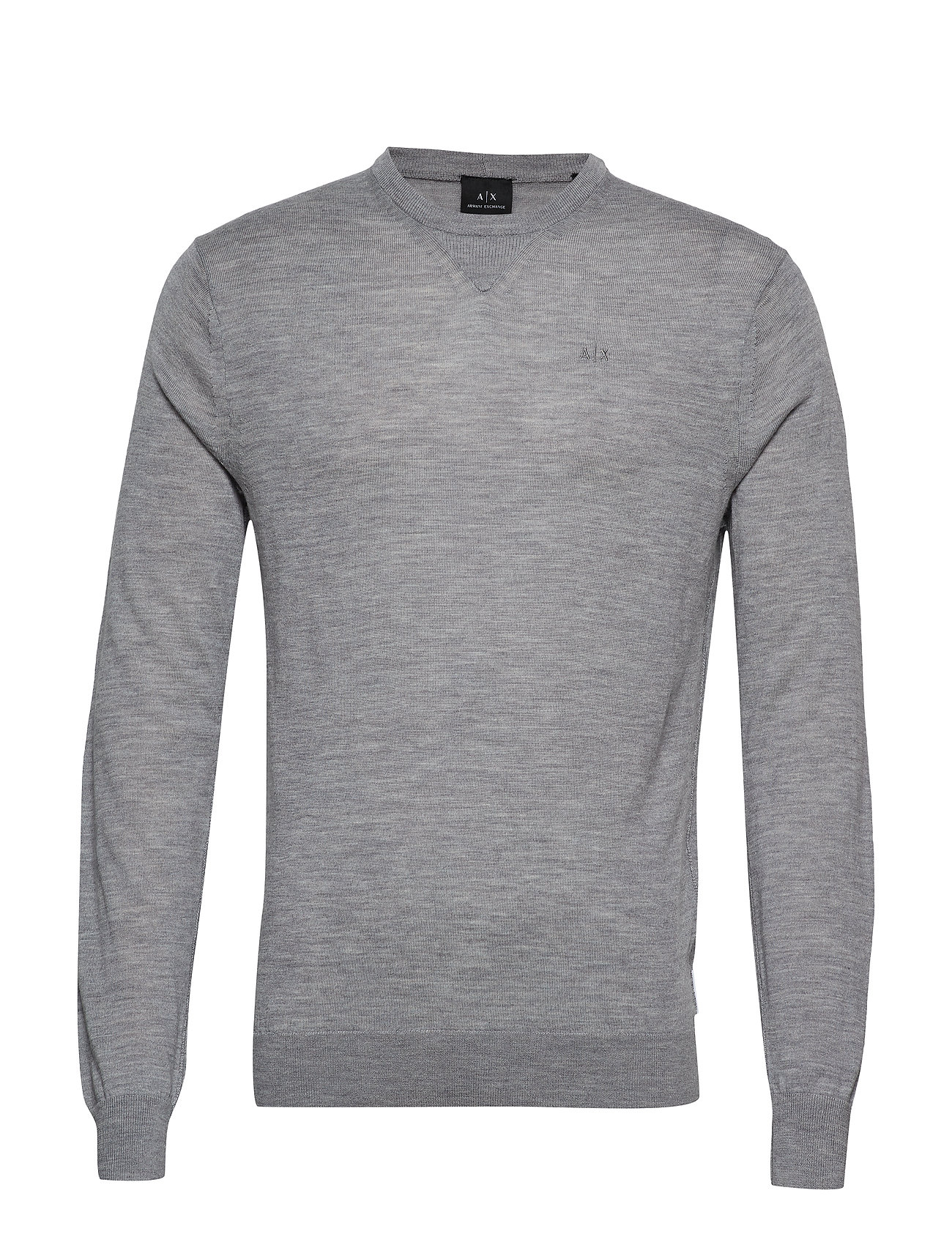 Armani Exchange AX MAN PULLOVER - BROS BC06 ALLOY HTR