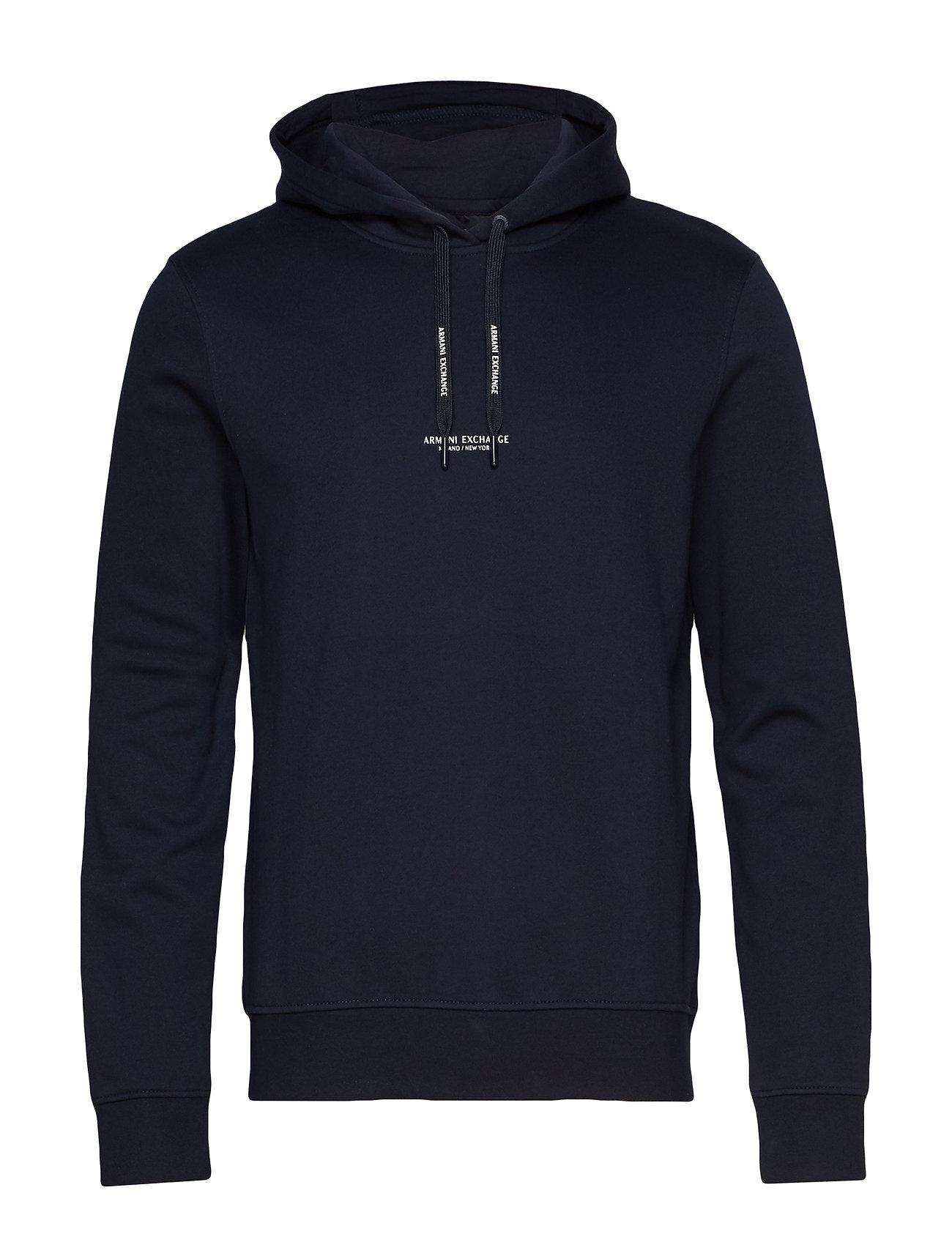 2bed3984 Ax Man Sweatshirt (Navy) (844 kr) - Armani Exchange - | Boozt.com