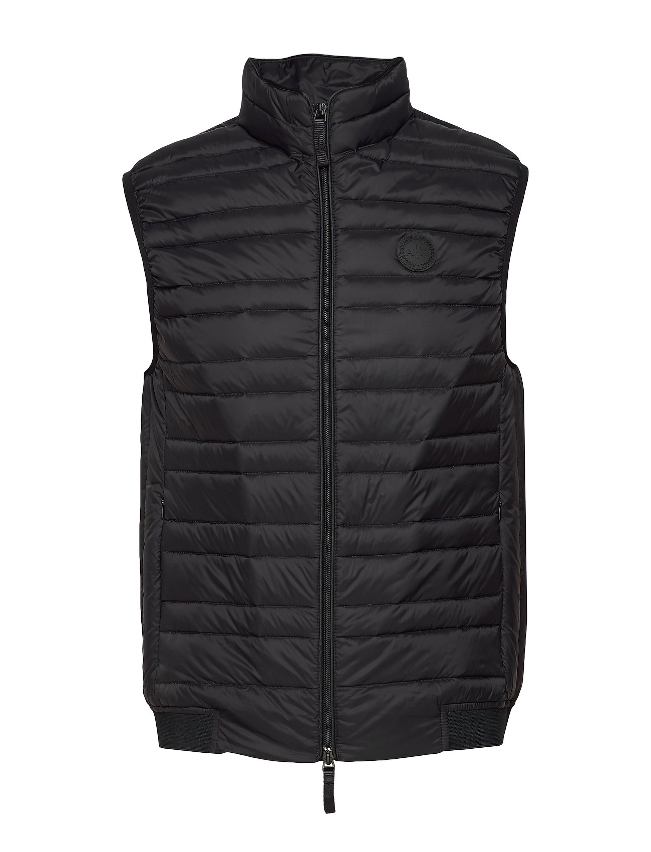 Image of Ax Man Sleeveless Jacket Vest Sort Armani Exchange (3359209569)