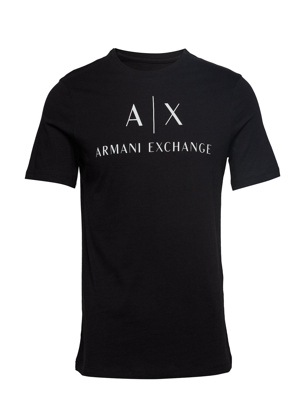 Jersey Jersey shirtblackArmani Jersey T Man T shirtblackArmani Exchange Man Exchange Man 92IDWEH